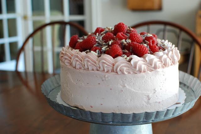 41 1 - Chocolate Layer Cake with Raspberry Buttercream