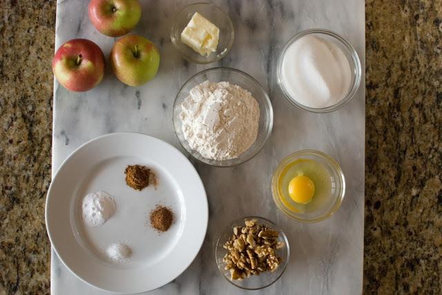 2 - Fresh Apple Nut Cake
