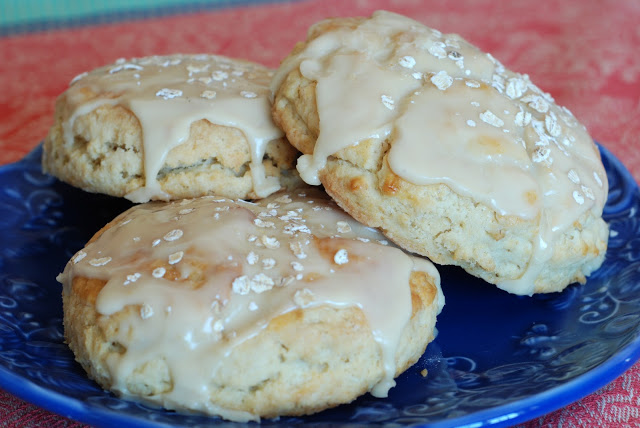 Maple Oatmeal Scones - Christmas Morning Breakfast Ideas