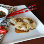 1 150x150 - Mandarin Pork Potstickers with Hot & Sour Chili Sauce