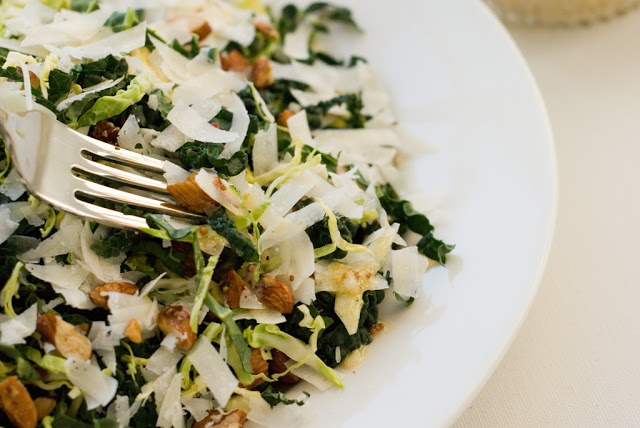 1 2 - Kale & Brussels Sprout Salad