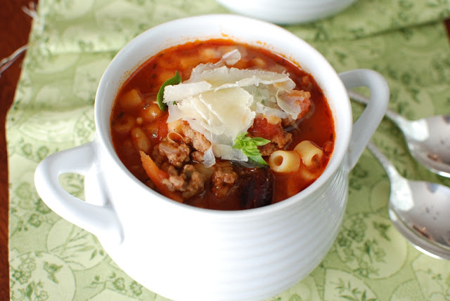 40 3 - Pasta e Fagioli Soup