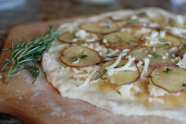 47 - Potato Rosemary Pizza