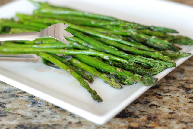 1 1 - Roasted Asparagus with Balsamic Browned Butter