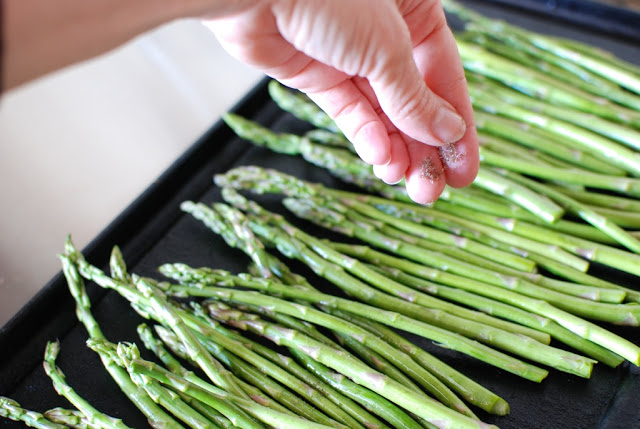 15 1 - Roasted Asparagus with Balsamic Browned Butter
