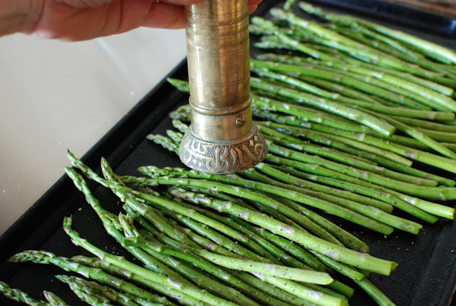 16 1 - Roasted Asparagus with Balsamic Browned Butter