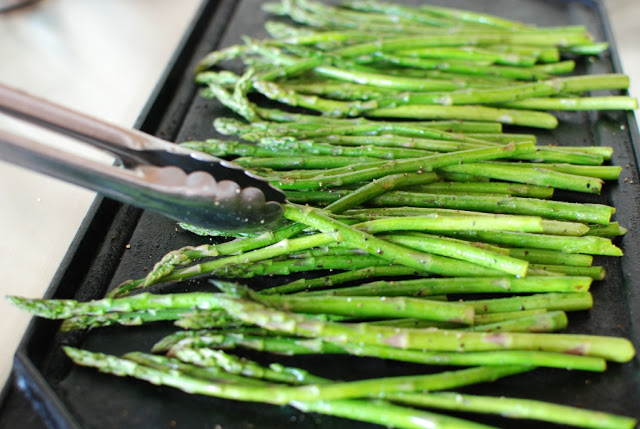 17 1 - Roasted Asparagus with Balsamic Browned Butter