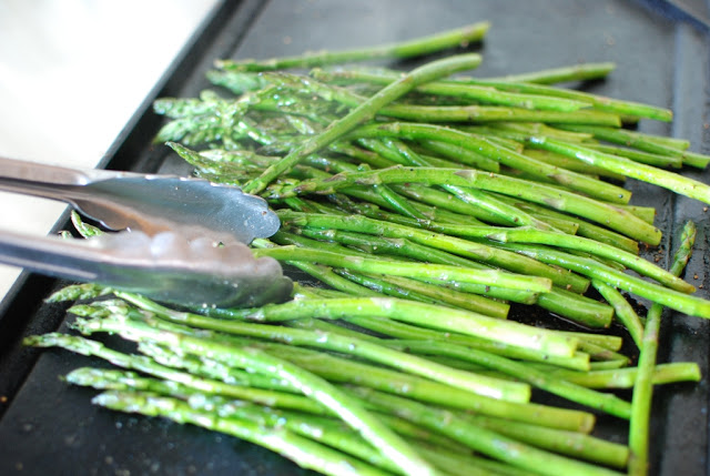 20 1 - Roasted Asparagus with Balsamic Browned Butter