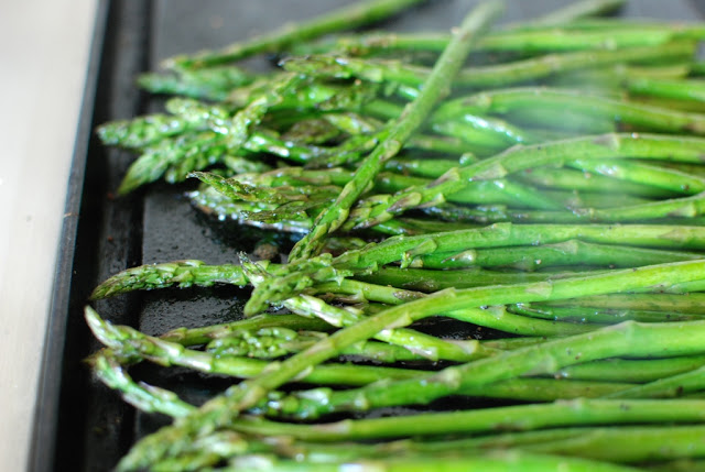 21 1 - Roasted Asparagus with Balsamic Browned Butter