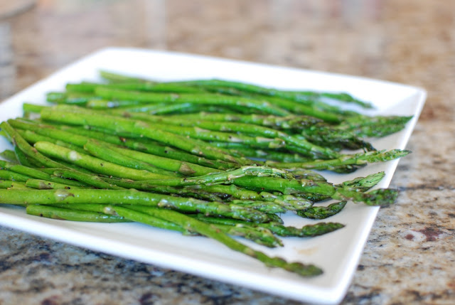 22 1 - Roasted Asparagus with Balsamic Browned Butter
