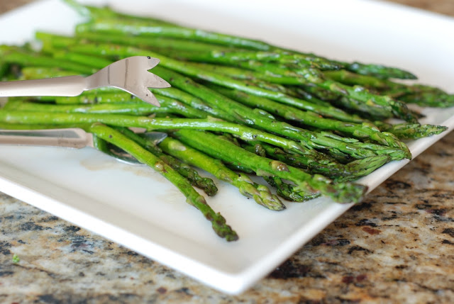 23 1 - Roasted Asparagus with Balsamic Browned Butter