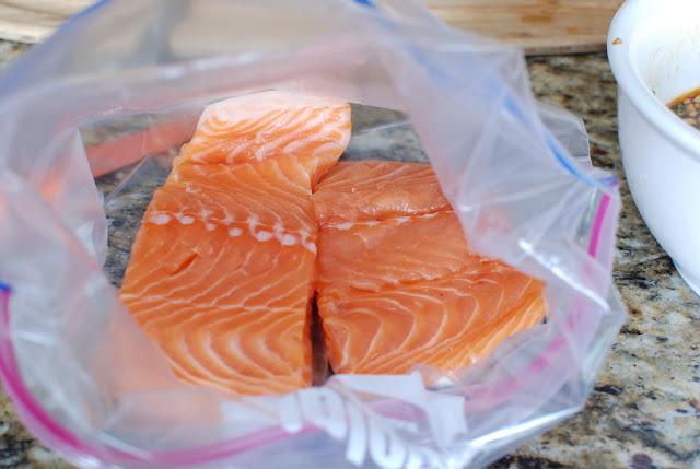 16 - Soy Orange Glazed Grilled Salmon with Fresh Pineapple Salsa