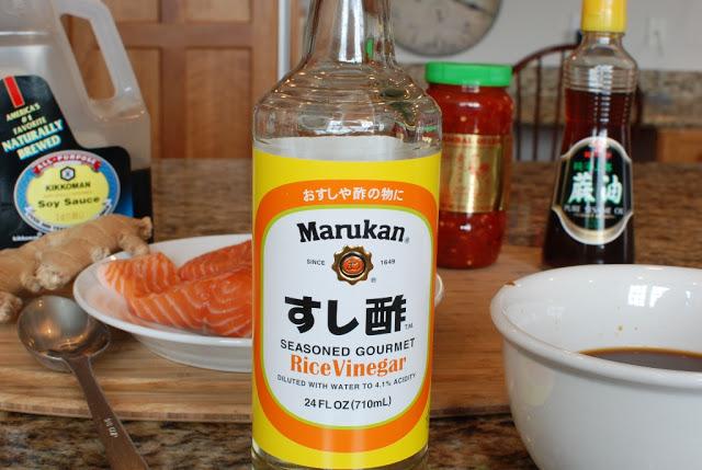 7 - Soy Orange Glazed Grilled Salmon with Fresh Pineapple Salsa