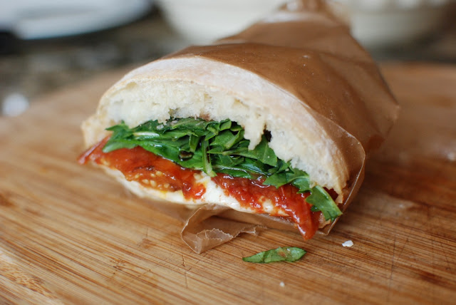 Slow Roasted Tomato Sandwiches and Pizza