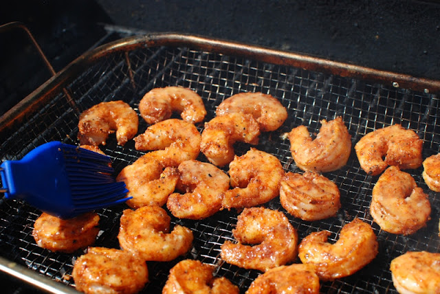 27 - Grilled Shrimp With Lemon-Garlic Butter