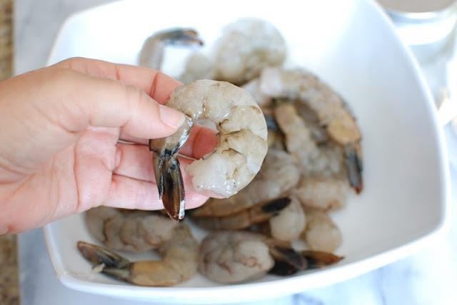 3 - Grilled Shrimp With Lemon-Garlic Butter