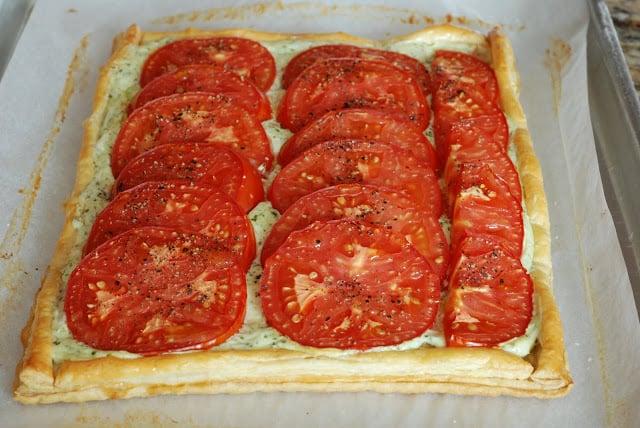 49 - Tomato Basil Tart
