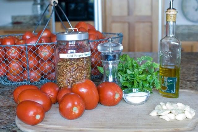 2 1 - Slow Roasted Tomatoes