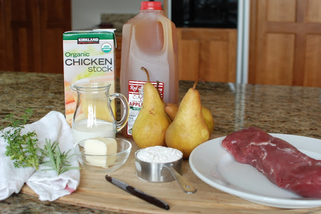 2 2 - Vanilla Cider Pork with Pears