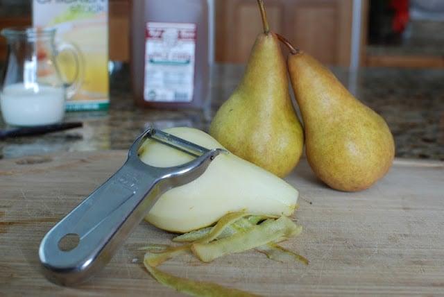 3 2 - Vanilla Cider Pork with Pears