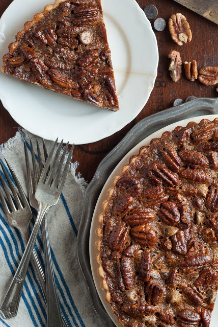 Pecan Chocolate Tart