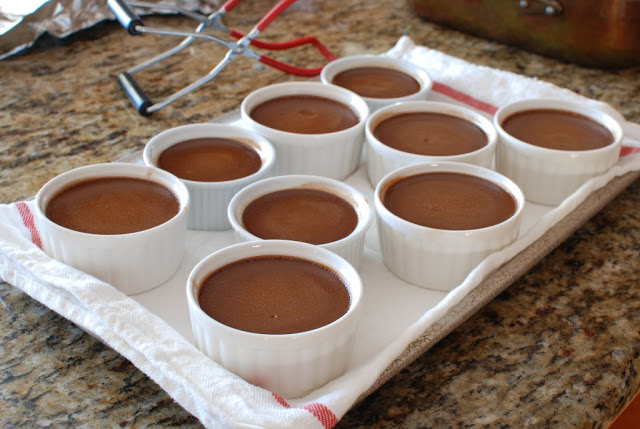 28 - CHOCOLATE POT DE CREME
