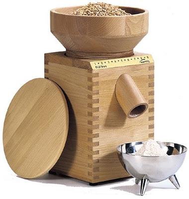 wood wheat grinder - Whole Wheat Cinnamon Swirl Bread
