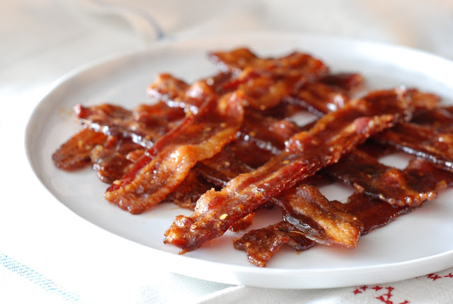 Five-Spice Glazed Bacon