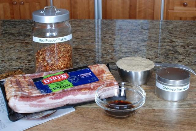 2 - Five-Spice Glazed Bacon