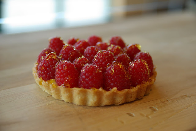 raspberry tart - Valentine's Day Desserts and a local give-a-way