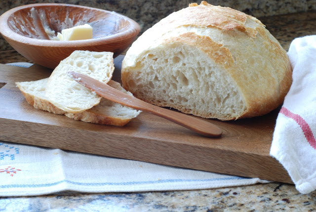 1 - Artisan No-knead Bread
