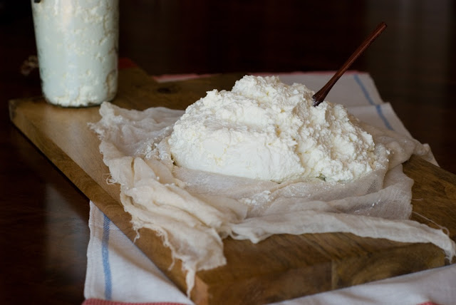 Homemade Buttermilk Ricotta