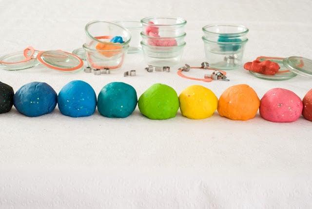 2a - Glitter Play Dough