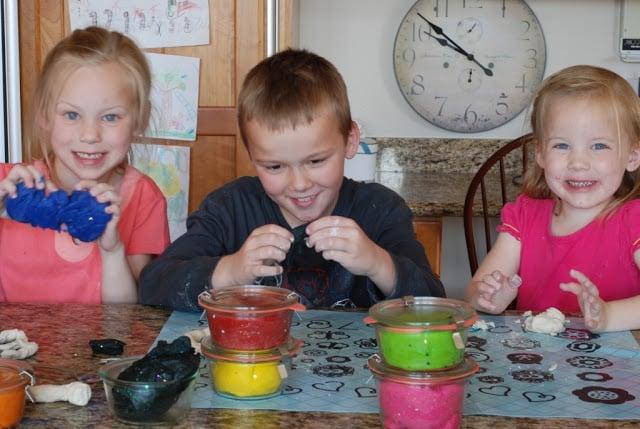 play dough 005 - Glitter Play Dough