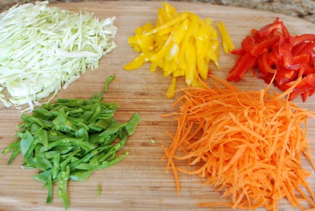 28 1 - Beef Soba Noodle Salad with Mango Ginger Dressing