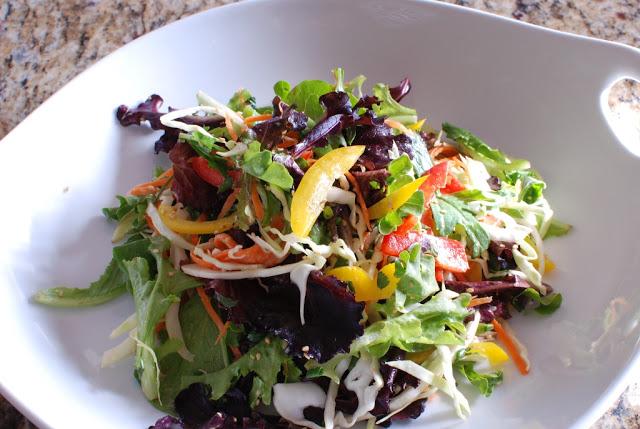 61 - Beef Soba Noodle Salad with Mango Ginger Dressing
