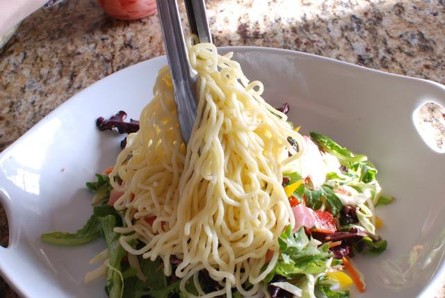 64 - Beef Soba Noodle Salad with Mango Ginger Dressing
