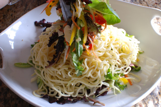 65 - Beef Soba Noodle Salad with Mango Ginger Dressing