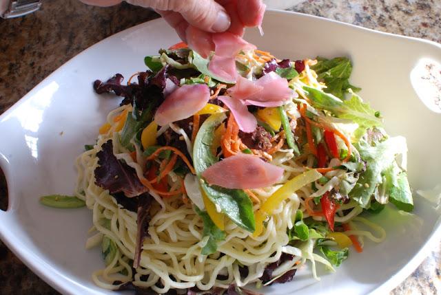 66 - Beef Soba Noodle Salad with Mango Ginger Dressing
