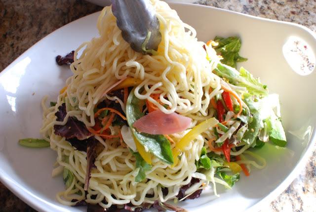 67 - Beef Soba Noodle Salad with Mango Ginger Dressing