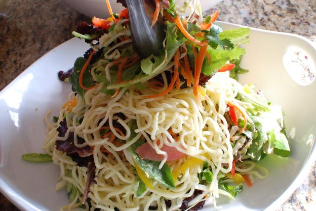 68 - Beef Soba Noodle Salad with Mango Ginger Dressing