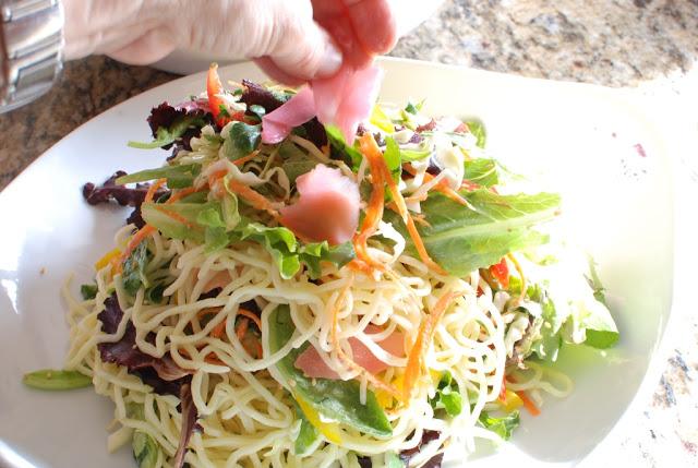 69 - Beef Soba Noodle Salad with Mango Ginger Dressing