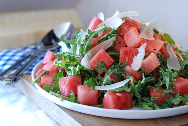 1a 1 - Watermelon Arugula Salad