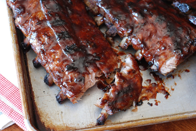 27b - Cherry Cola Glazed Ribs