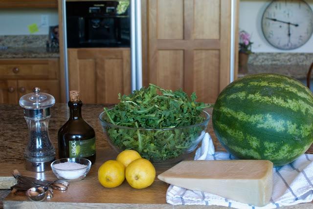 4 4 - Watermelon Arugula Salad