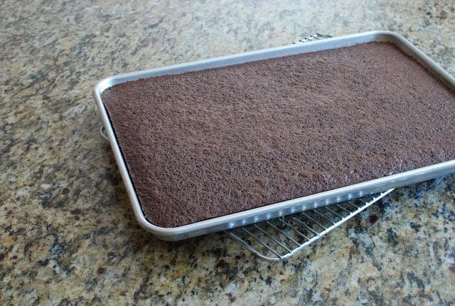 40 - Chocolate Hazelnut Gelato Cake