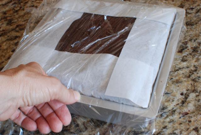 56 - Chocolate Hazelnut Gelato Cake
