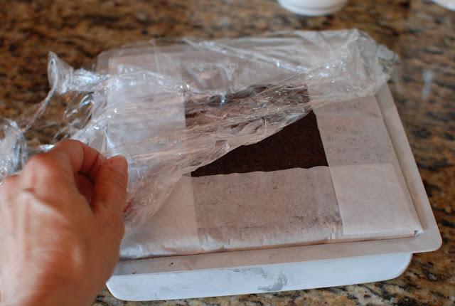 66 - Chocolate Hazelnut Gelato Cake