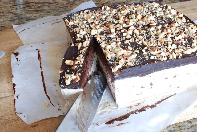 73 - Chocolate Hazelnut Gelato Cake