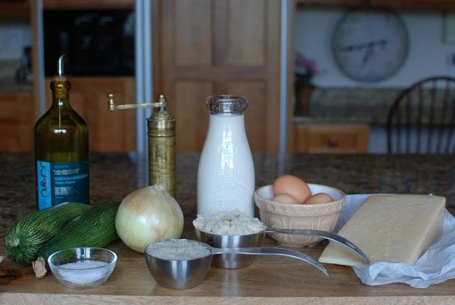 2 - Zucchini Gratin - Tian de Courgettes